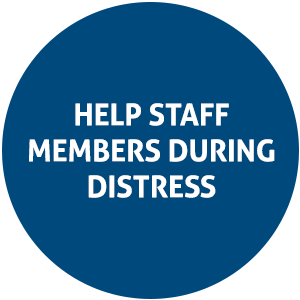 help staff members during distress | Magellan Rx Management