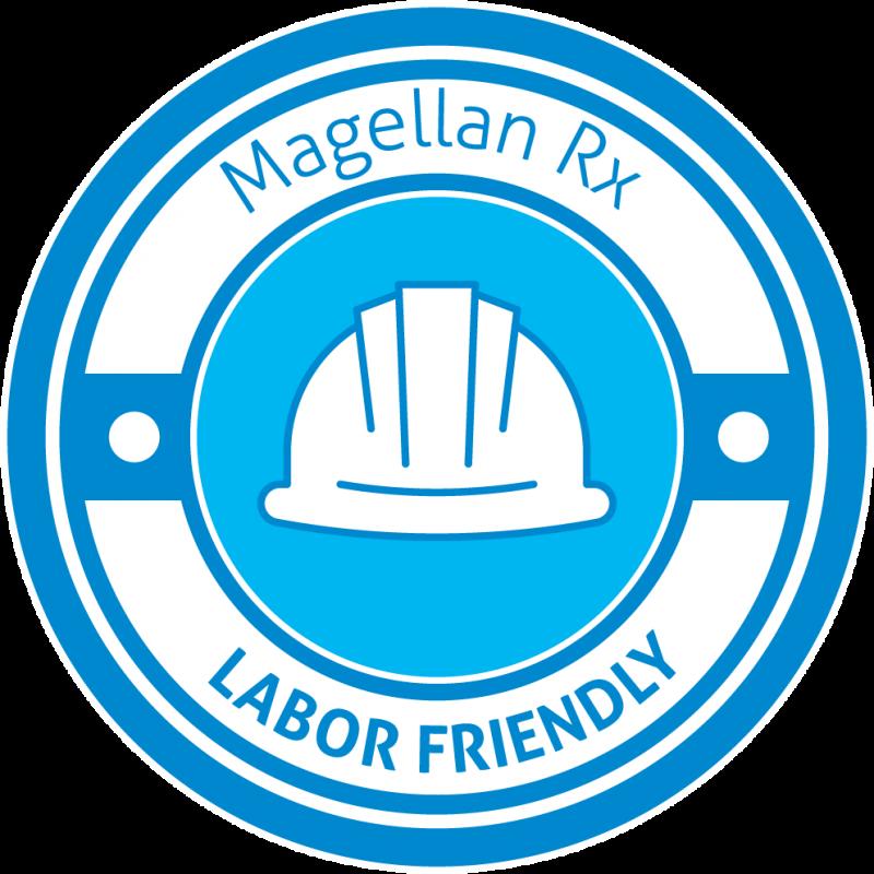 Labor Friendly Magellan Rx Badge   Magellan Rx Management